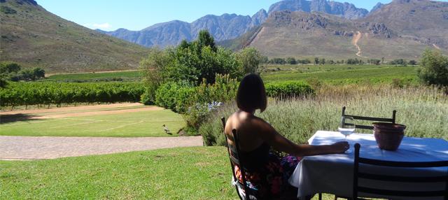 Kaapstad wijn proeven