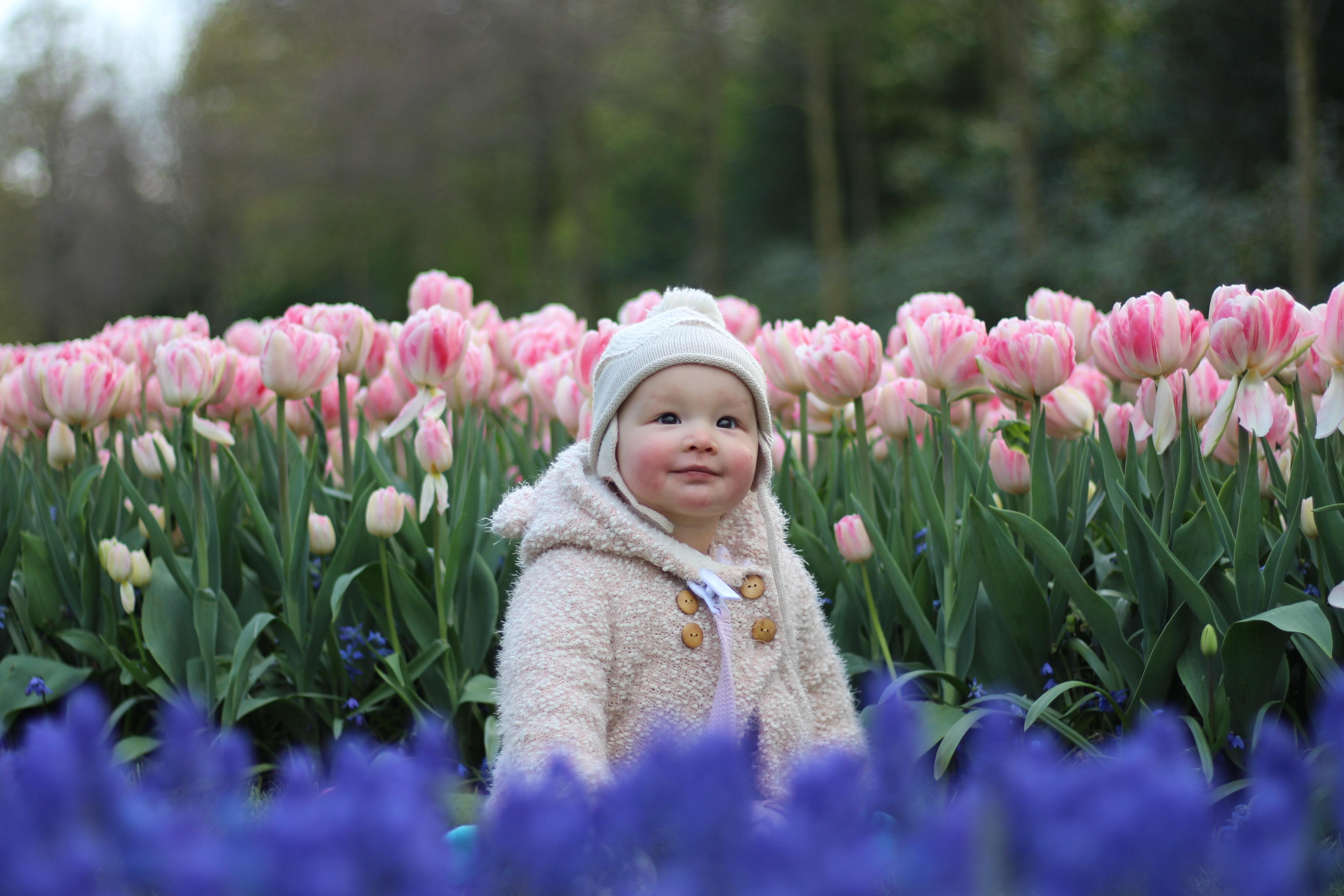 Baby bloemen