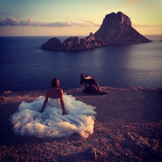 Es Vedra huwelijksfoto