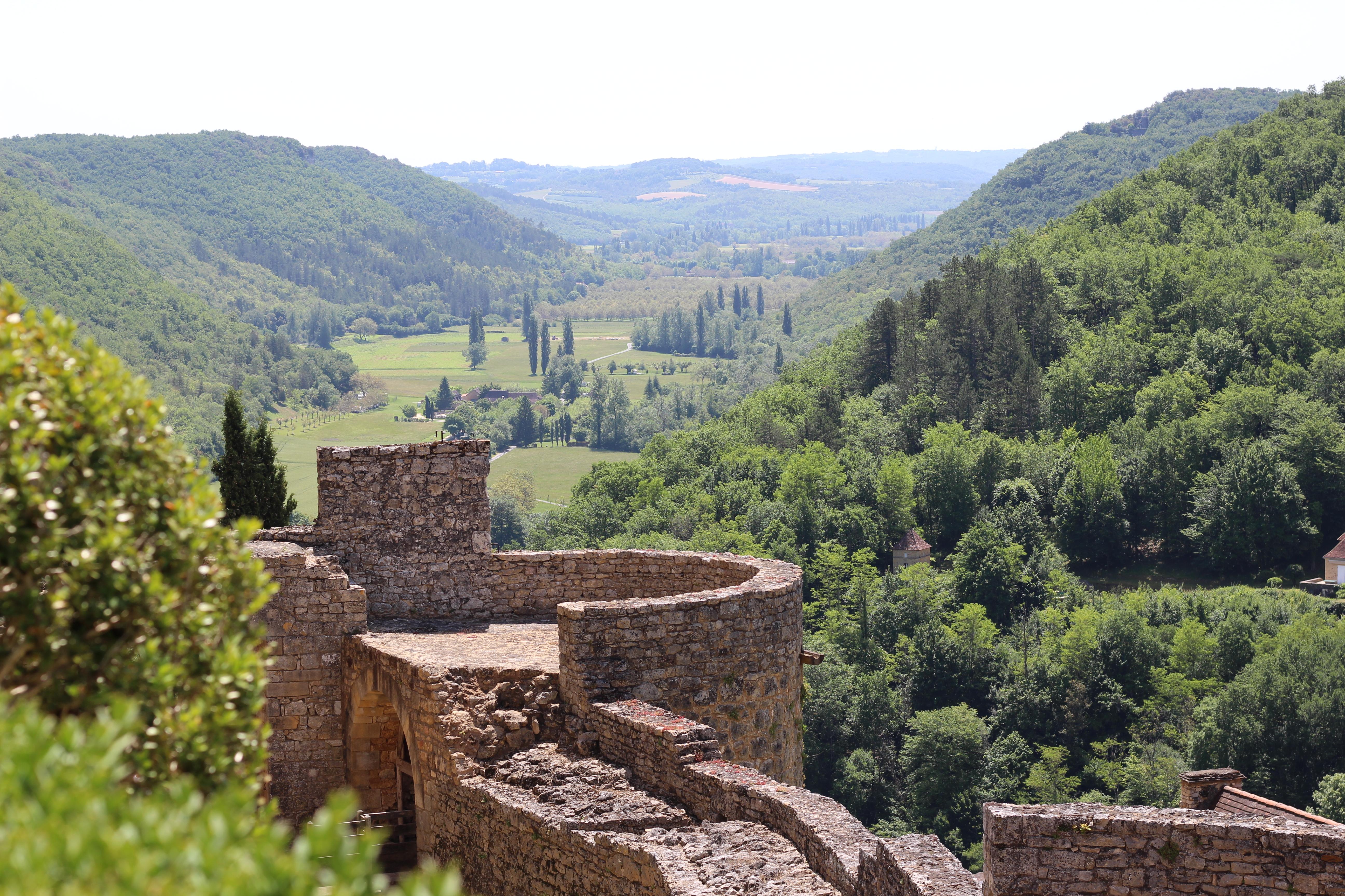 Castelnaud uitzicht