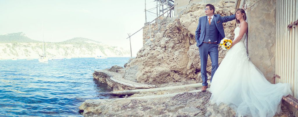 Verliefd op Ibiza: de trouwfoto's
