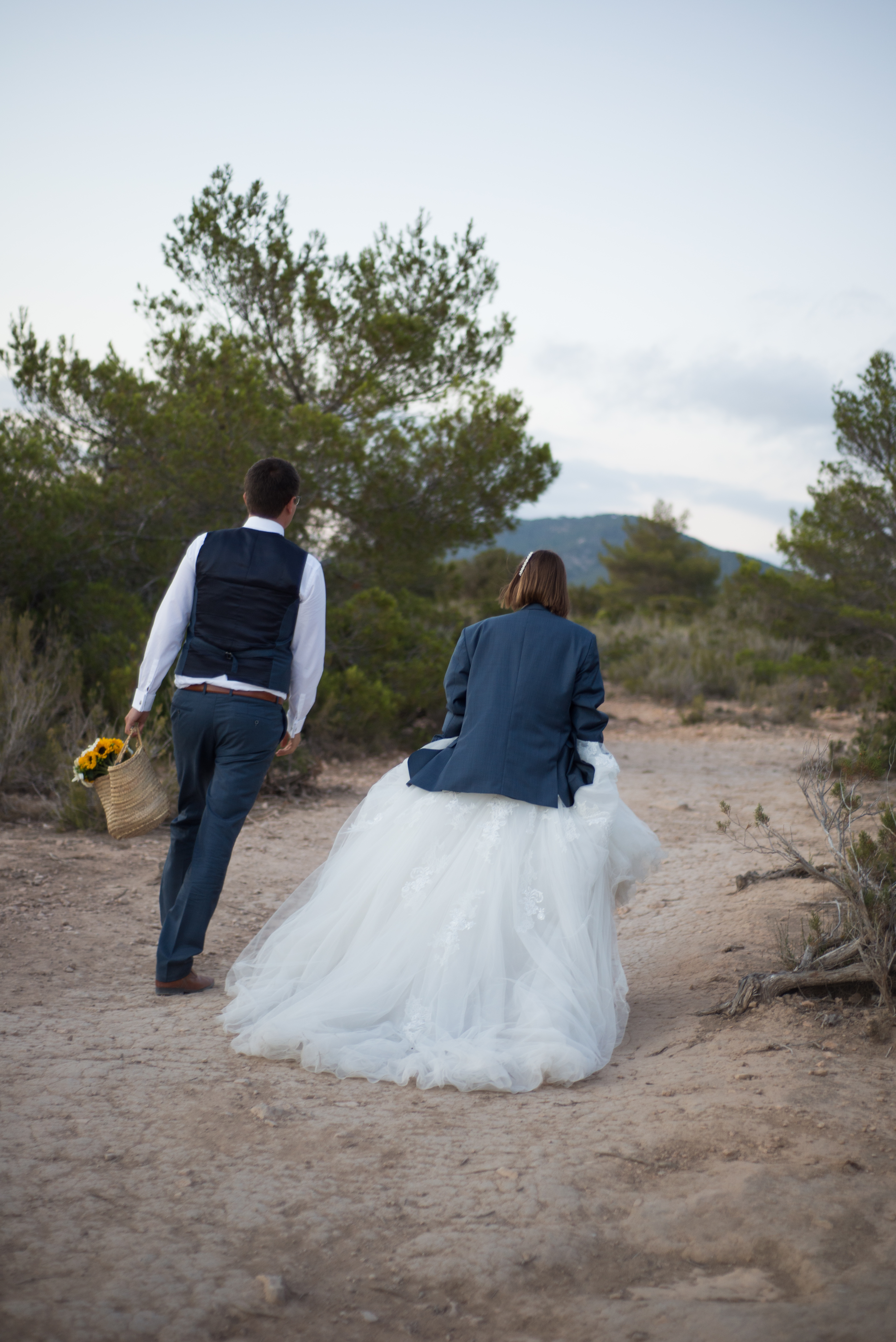 Ibiza huwelijksfoto