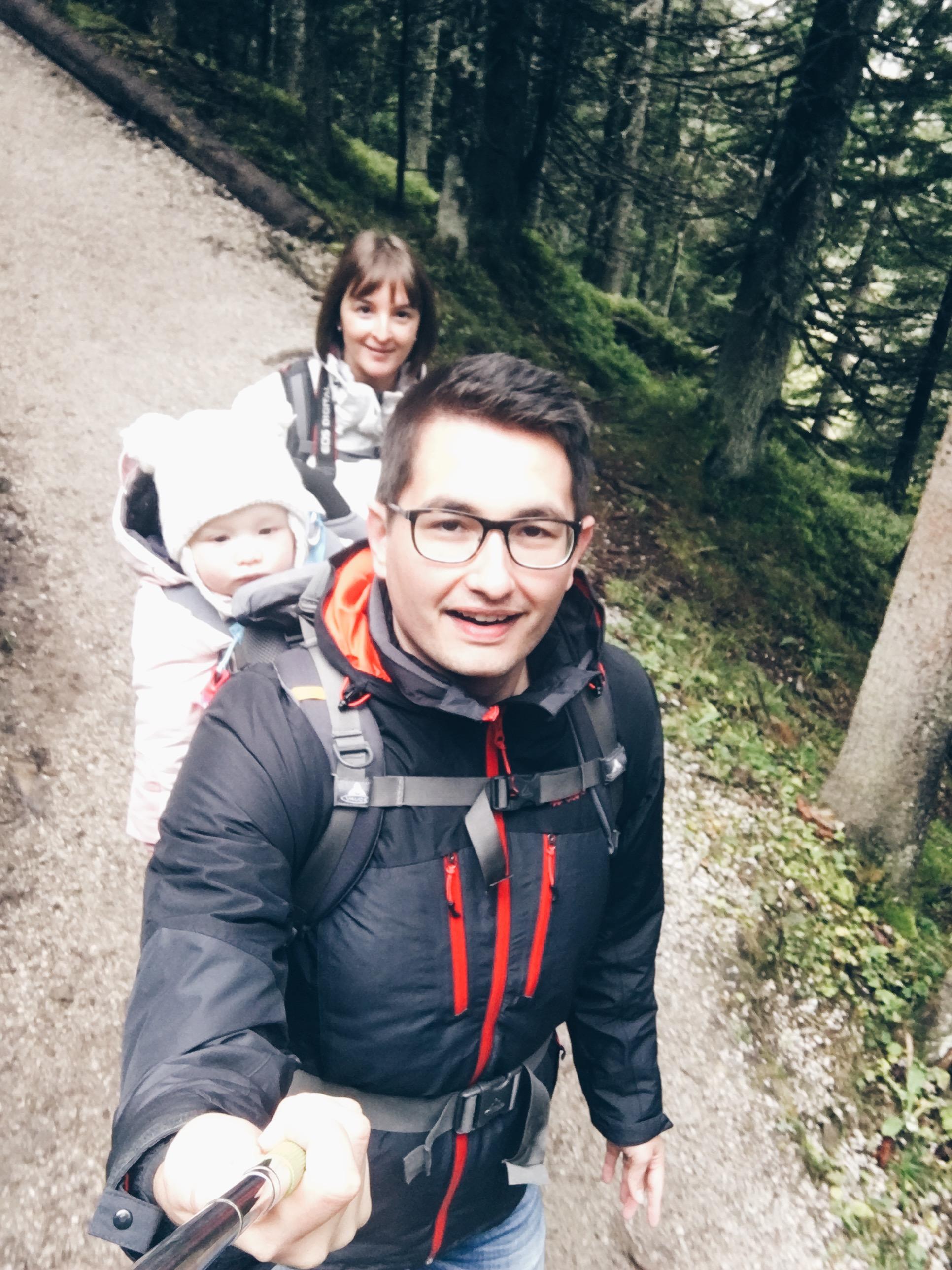 Oostenrijk family hike