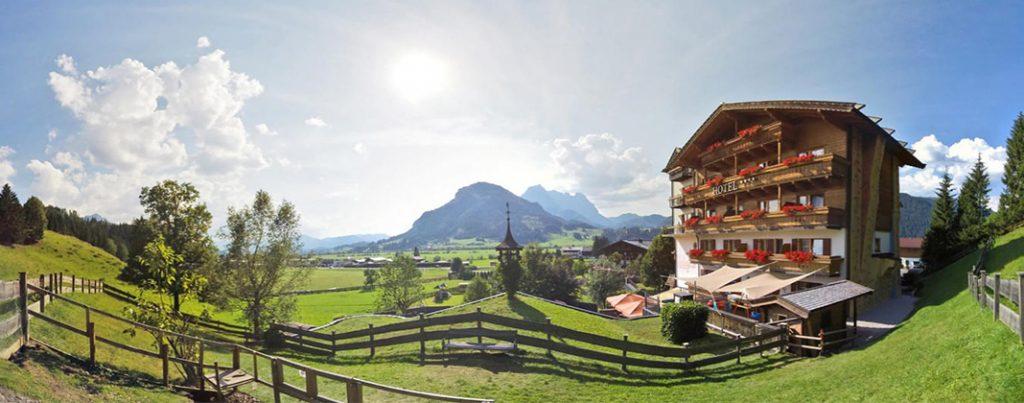 Op babyhotel in Oostenrijk