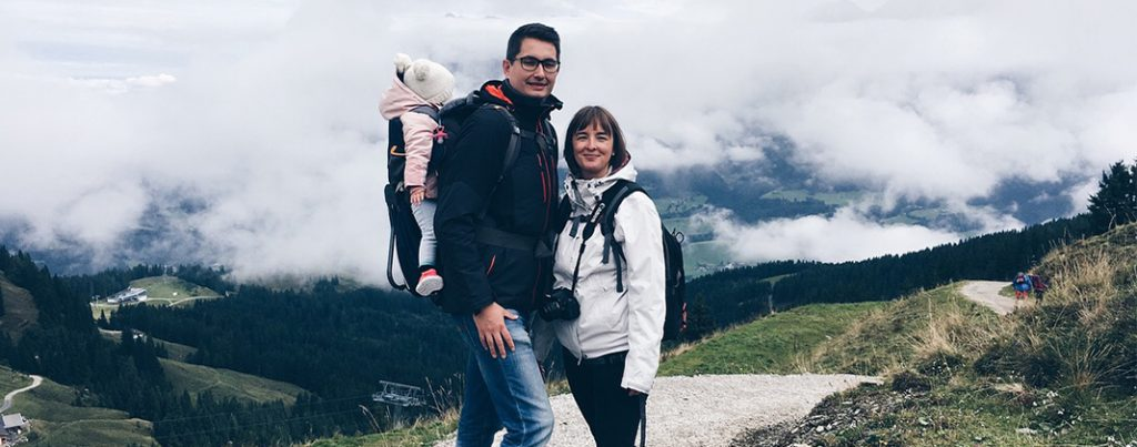 Hekserij, regen, koemelk en hiken. Het begin van onze gezinsvakantie in Oostenrijk