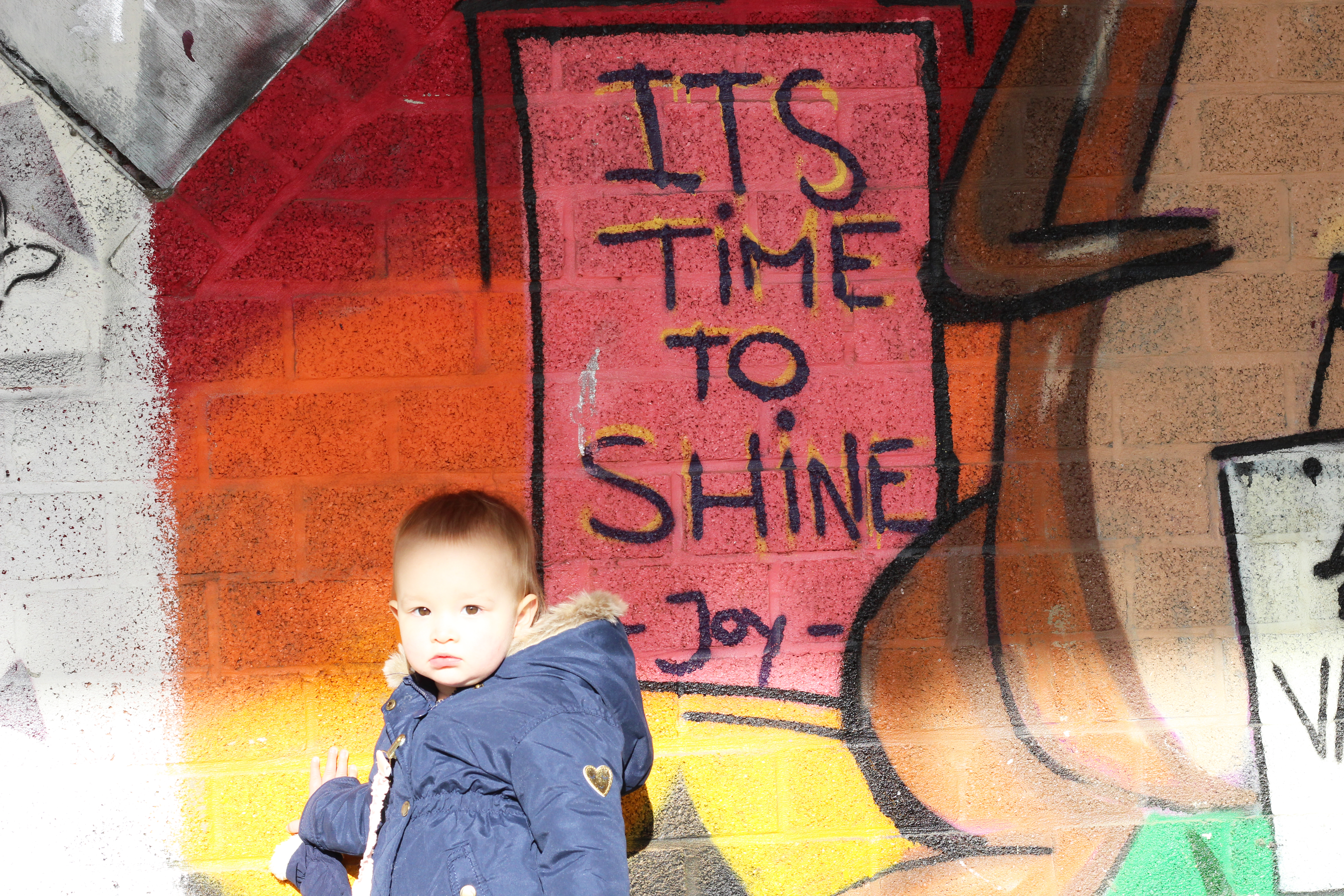 gezinsuitstap Doel graffiti