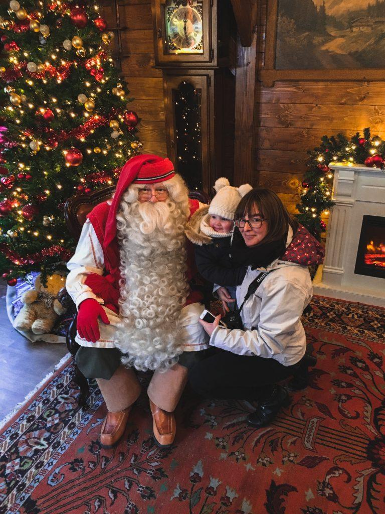 Bezoek aan de Kerstman