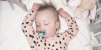 slapende peuter