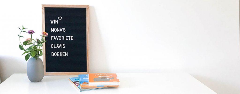 Mona's favoriete peuterboeken + win een Clavis boekenpakket