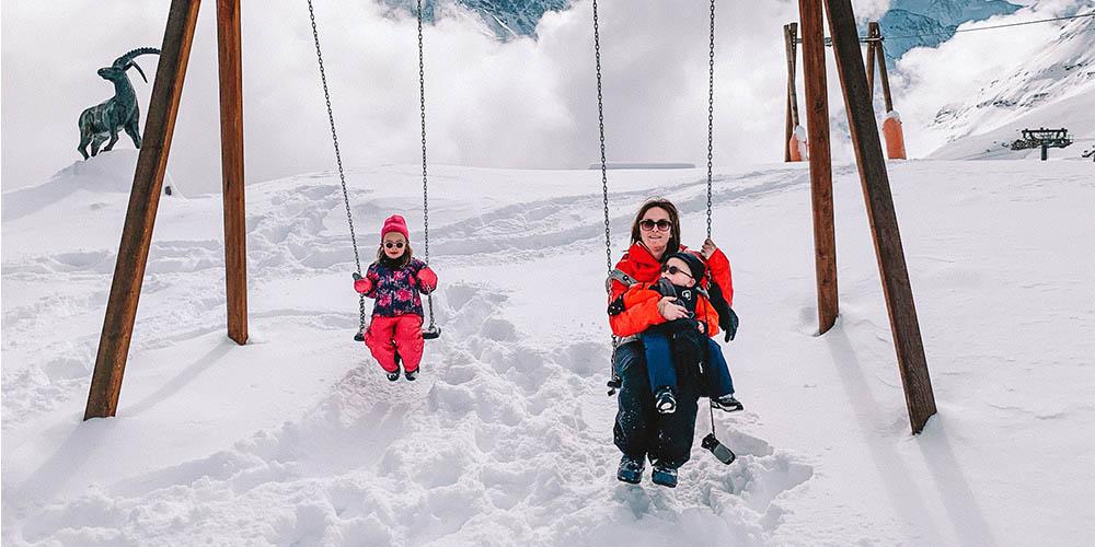 Leren skiën met Intersoc