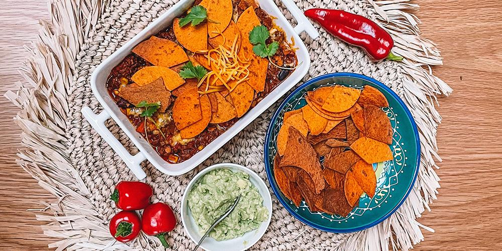 Chili Con carne met Poco Loco wortelwraps